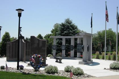 Side View of Memorial
