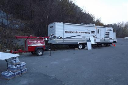 Support Group Operations Center Trailer